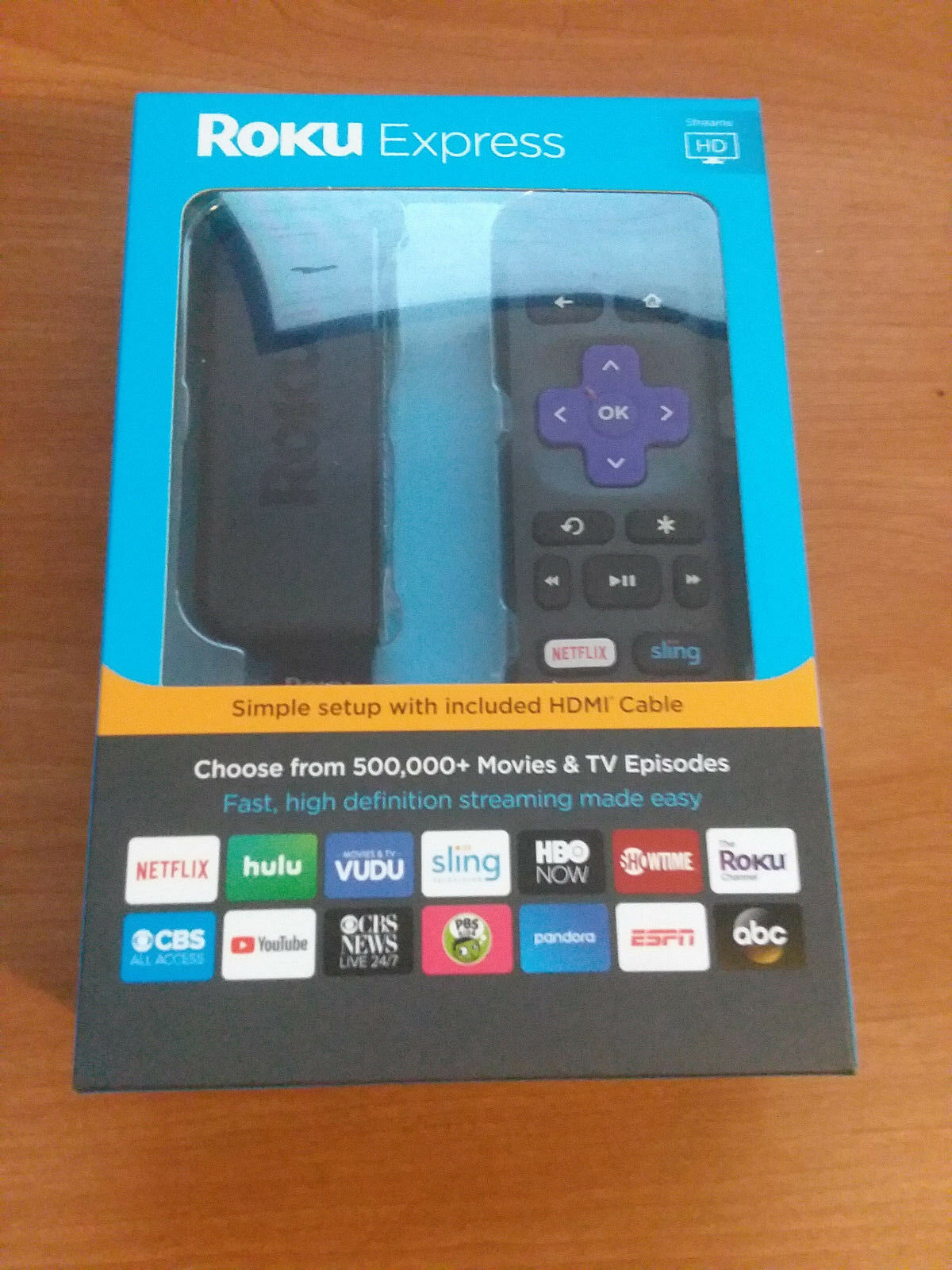 ROKU EXPRESS 3900RW STREAMING MEDIA PLAYER (BLACK) LATEST MODEL NEW IN BOX Featured