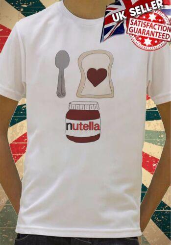 Cute Nutella and toast cartoon image Boys Girls Birthday gift Top T shirt 387