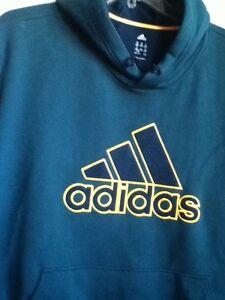 Adidas Logo Grande Con M64275 Cappuccio Verde Felpa Originale S81qWOawa