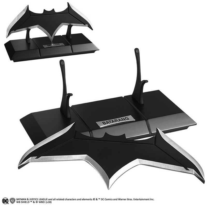 DC Batuomo JLA Justice League Batarang Prop Replica NOBLE collezioneS