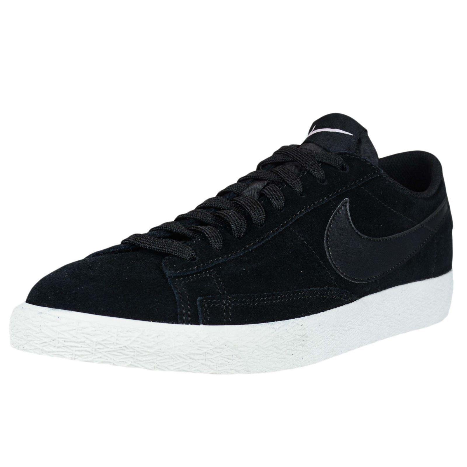 New Nike Basketball Blazer Low Men's Retro Basketball Nike Shoes Black 371760 024 056975