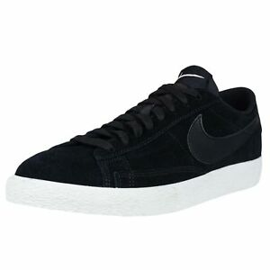 New Nike Blazer Low Men's Retro Basketball Shoes Black 371760 024