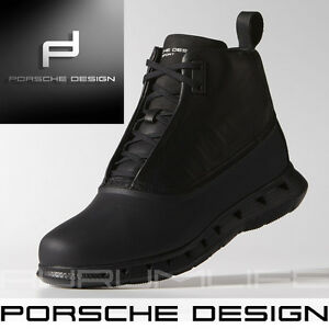 694723069d69 Adidas Porsche Design Shoes Mens Black Warm Snow Bounce Winter Boot ...