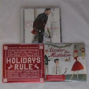 STARBUCKS-CHRISTMAS-HOLIDAY-ALBUM-amp-COMPILATION-3-CD-LOT-NEW-SEALED-FREE-S-amp-H-FS