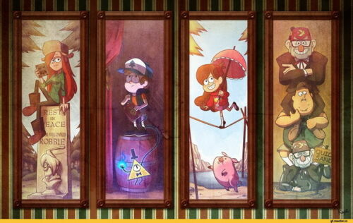 "064 Gravity Falls Disney Mabel Pines USA Cartoons 22/""x14/"" Poster"