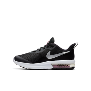 Nike-Air-Max-UK-Size-6-Womens-Trainers-Black-White-Girls-Shoes