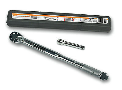 "Mannesmann Automatic Torque Wrench / 1/2"" / 12.5mm Drive / 10 - 210 NM <> GS TUV"