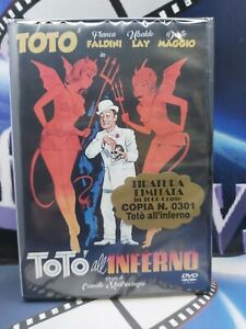 Totò All'inferno  - 1955 - DVD*nuovo Tiratura Limitata.