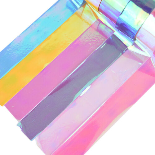 5m Rhythmic Gymnastics Decoration Holographic Prismatic Glitter Tape Hoops StiYT