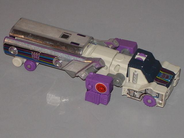 G1 Transformer Decepticon Triple Changer Octane  Original  Completo Lote   3