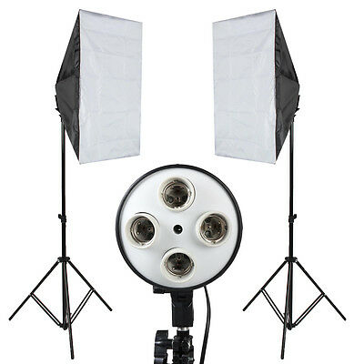 Photography Lights Photo Studio Softbox Kit Photo Equipment for Studio Diffuser