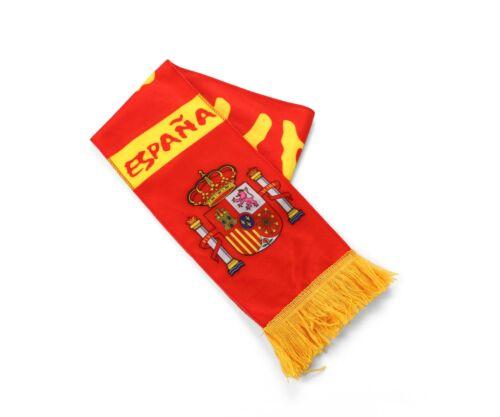 Spain Football Team Scarf Country Flag World Cup Euros Spanish Soccer