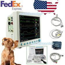 Veterinary Patient Monitor Vital Signs Vet Monitor6 Parameters Contec 121usa