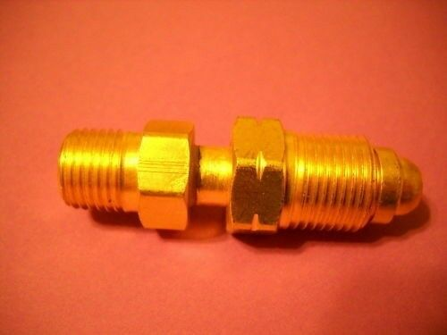 TIG Welding Fitting hose adaptor fitting 1//4MNPT x LH water  #A-415