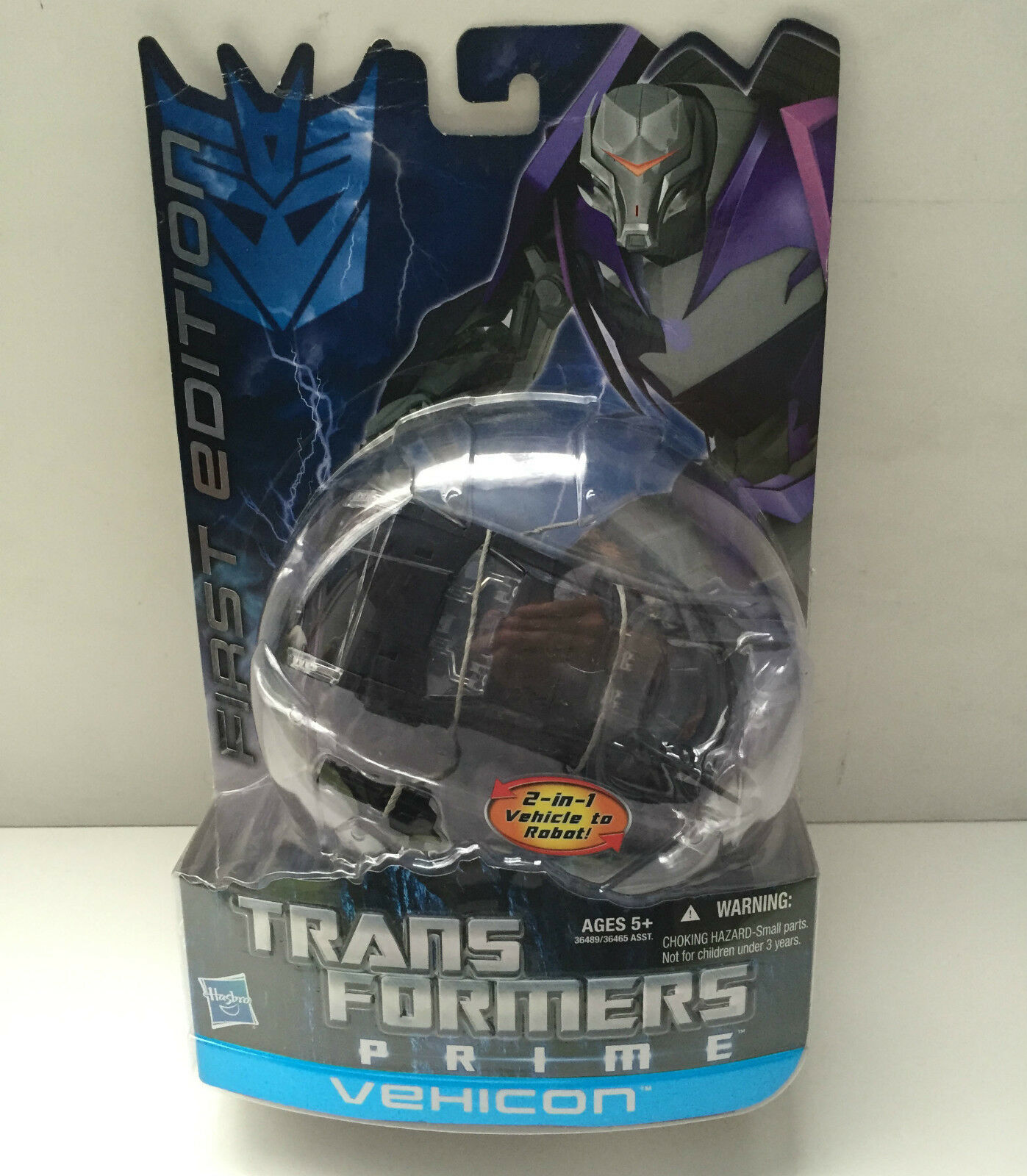 Transformers Prime Hasbro First Edition Deluxe Vehicon