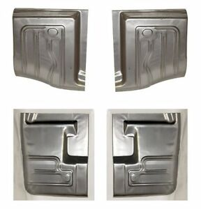 1966 1967 ford fairlane floor pan set 4 pieces 18 gauge for 1966 ford fairlane floor pans