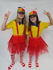 CA769 Ladies Tweedle Dee Dum Storybook Alice in Wonderland Book Week Costume