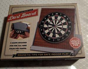 Magnetic Desktop Dart Board Meridian Compact Folds for Travel Brand New