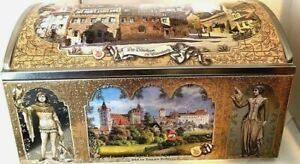 Lebkuchen Schmidt Treasure Chest Tin Box Das Durerhaus zu Nurnberg