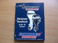 Werkstatthandbuch Johnson Evinrude Außenborder ED 1996 4-Takt 8 9.9 15 PS