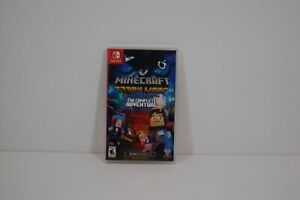 Authentic Nintendo Switch Telltale Minecraft Story Mode The Complete Adventure