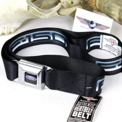 FORD OVAL f-150 LOGO pick up USA seatbelt cint tessuto cintura misura 77-130