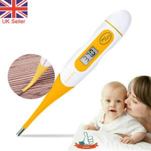 Termometro-Digital-LCD-Medico-bebe-adulto-cuerpo-seguro-Termometro-Electronico-oral