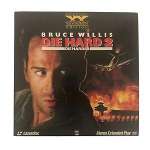 Die Hard 2 Die Harder Widescreen Edition Laserdisc Movie 1990 Bruce Willis 86162185069 Ebay