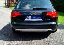JMS Racelook Heckdiffusor für Endrohr links/recht für Audi A4 B7 Limousine/Avant