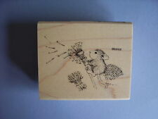 HOUSE MOUSE RUBBER STAMPS MAKE A WISH NEW WOOD STAMP