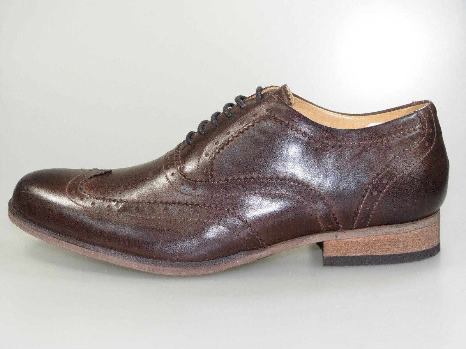 Maruti Schuhe Vestone Men 66.20168.2054 Braun Leder Leather +NEU+