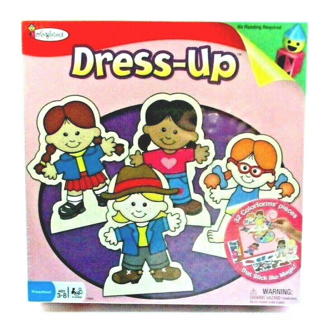 ColoreeeFORMS Fashion Dress Up Game w  No Reading Requirosso Rare 1998 Game USA NEW