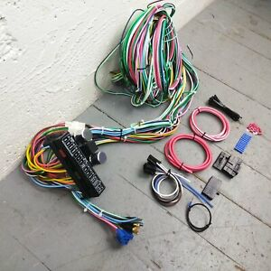 1963 - 1966 chevrolet c10 pickup truck wire harness upgrade kit fits  painless | ebay  ebay