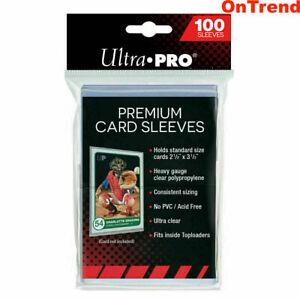 100-ct-Ultra-Pro-Platinum-Premium-Card-Protector-Sleeves-MTG-Yugioh-Pokemon