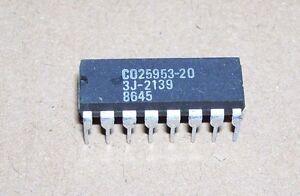 NEW-Atari-computer-16-DIP-IC-130XE-65XE-65-130-XE-C25953-20-EMMU-memory-IC-chip