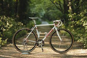 Eddy-Merckx-Roubaix-70-XS-50cm-Steel-Bicycle-with-Campagnolo-Potenza-Groupset