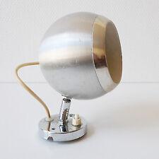 Lampe applique métal vintage années 70 design 1970 EYEBALL Space Age Pop
