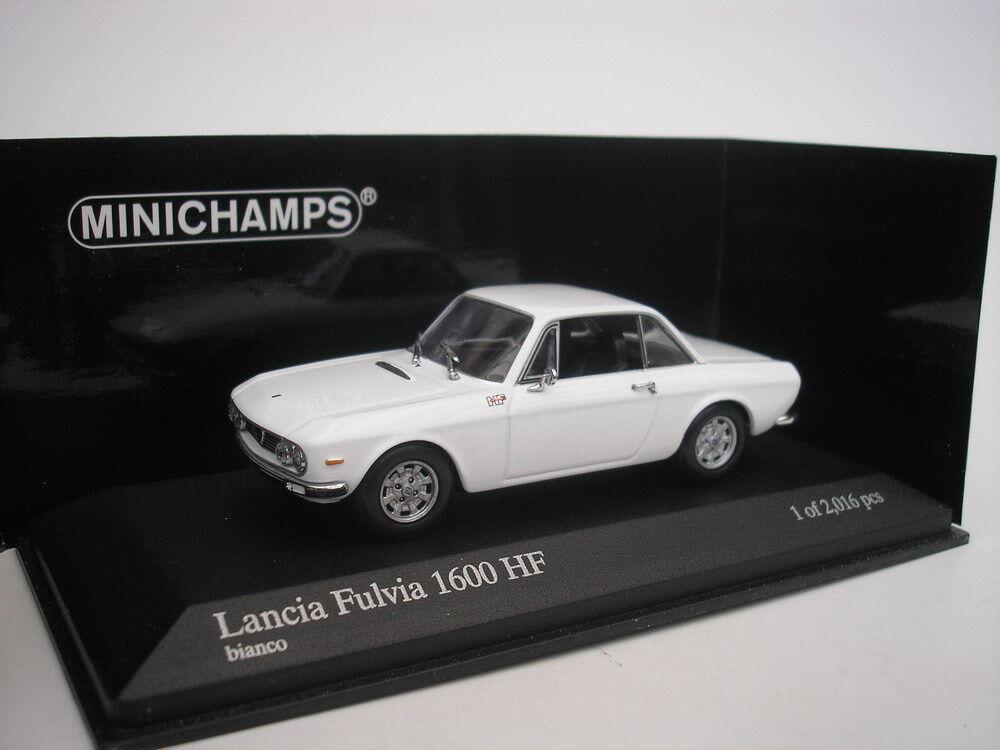 ganancia cero Lancia Fulvia 1600 HF 1970 1970 1970 blancoo 1 43 Minichamps 400125700  punto de venta barato