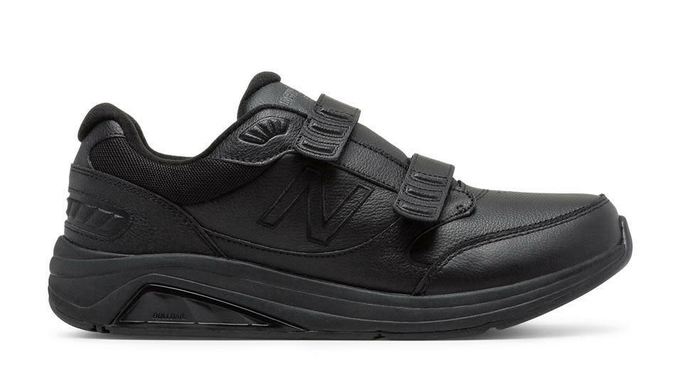 Nuovo equilibrio MW928HB3 928 V3 gancio - Loop  nero Leather Men's Walking scarpe  in vendita
