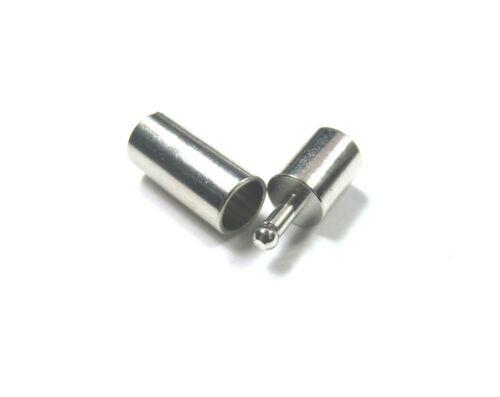 10 x steckverschluss bayoneta cierre para 4mm cintas cierre #496