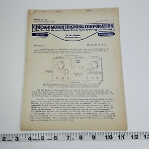 Chicago-Motor-Training-Corporation-Lesson-No-40-Electric-Test-Booth