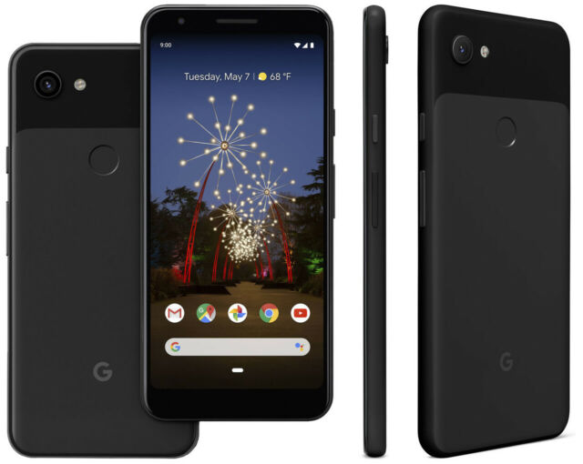 Google Pixel 3a 64GB - Black (T-mobile AT&T Unlocked) A