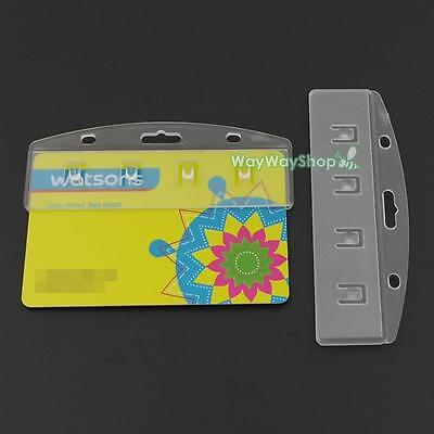 Half ID Credit Card Badge Holder Server Waiter easy to POS Access Swipe Card