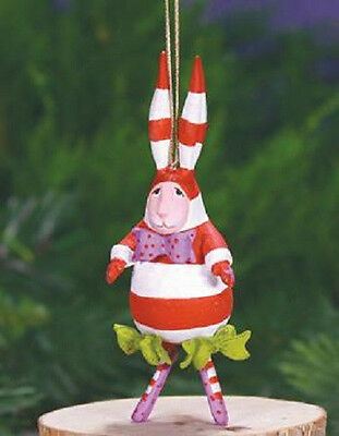 Patience Brewster MINI BENJAMIN BUNNY ornament KRINKLES NIB CUTE! NEW 2014