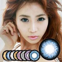 Farbige Kontaktlinsen Colored Contact Lenses / Fun Crazy Cosplay Halloween