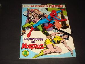 COMIX-FRANCE-LUG-ALBUM-L-039-ARAIGNEE-N-4-LE-RETOUR-DE-MORBIUS-1978