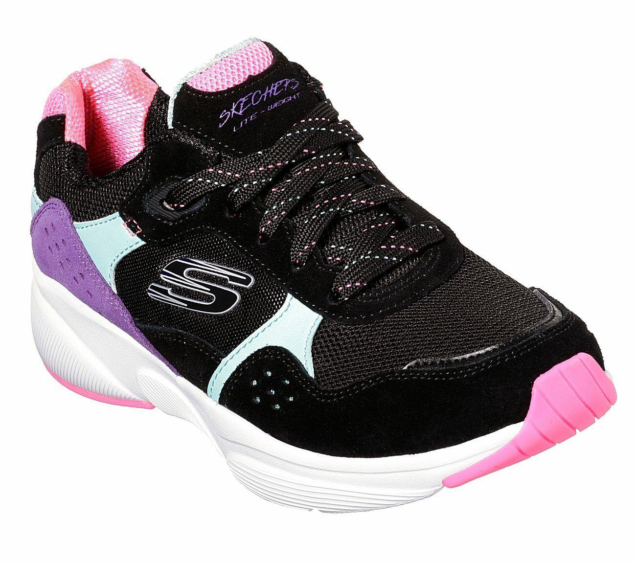NUOVO Skechers Scarpe da Donna Scarpe scarpe da ginnastica Meridian no worries Scarpe da Corsa Walking