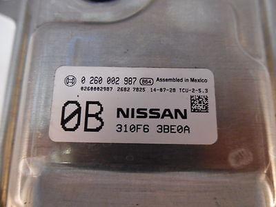 13-16 Sentra 310F63BE0A TCM TCU Transmission Shift Computer Control Module