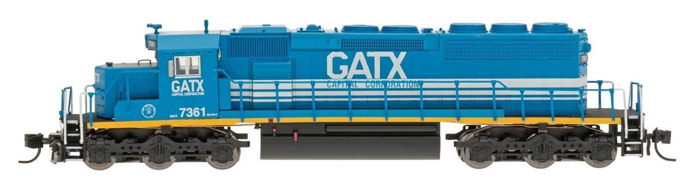 InterMountain N Scale 69323(D)(S) GATX SD40-2 Locomotive