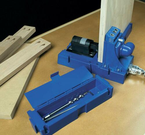5-Sizes Kreg Jig K5 Master System with Pocket Hole Screw Kit